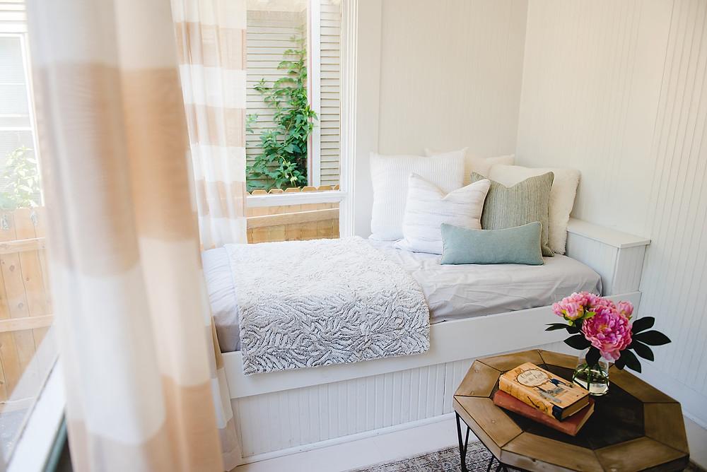 A sunroom designed by Lauren Figueroa.