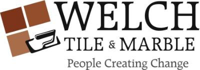 The Welch Tile and Marble logo.