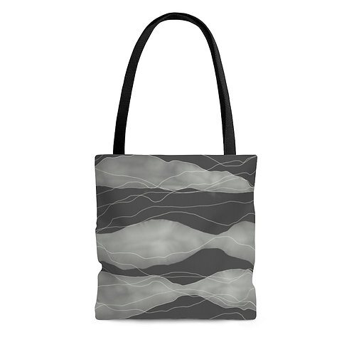 Tote Bag with Original Artwork by Lauren Figueroa (Multiple Sizes)