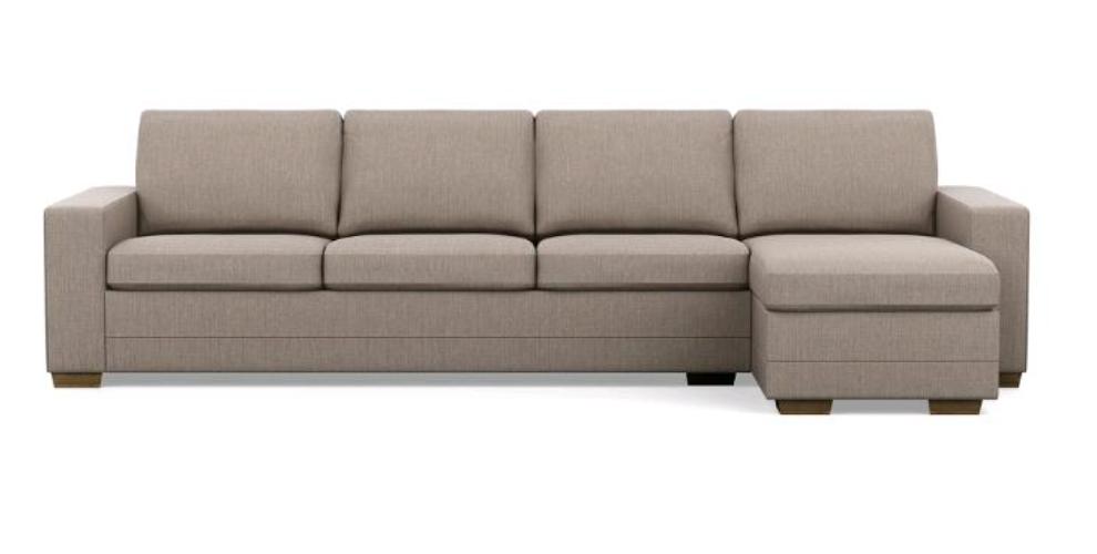 A large sofa.