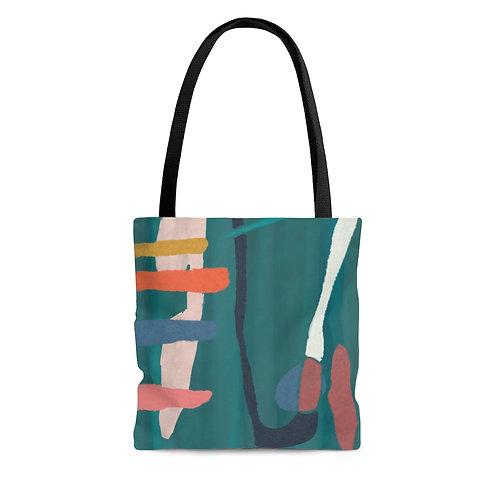 Tote Bag with Original Artwork by Lauren Figueroa (Multiple Sizes)