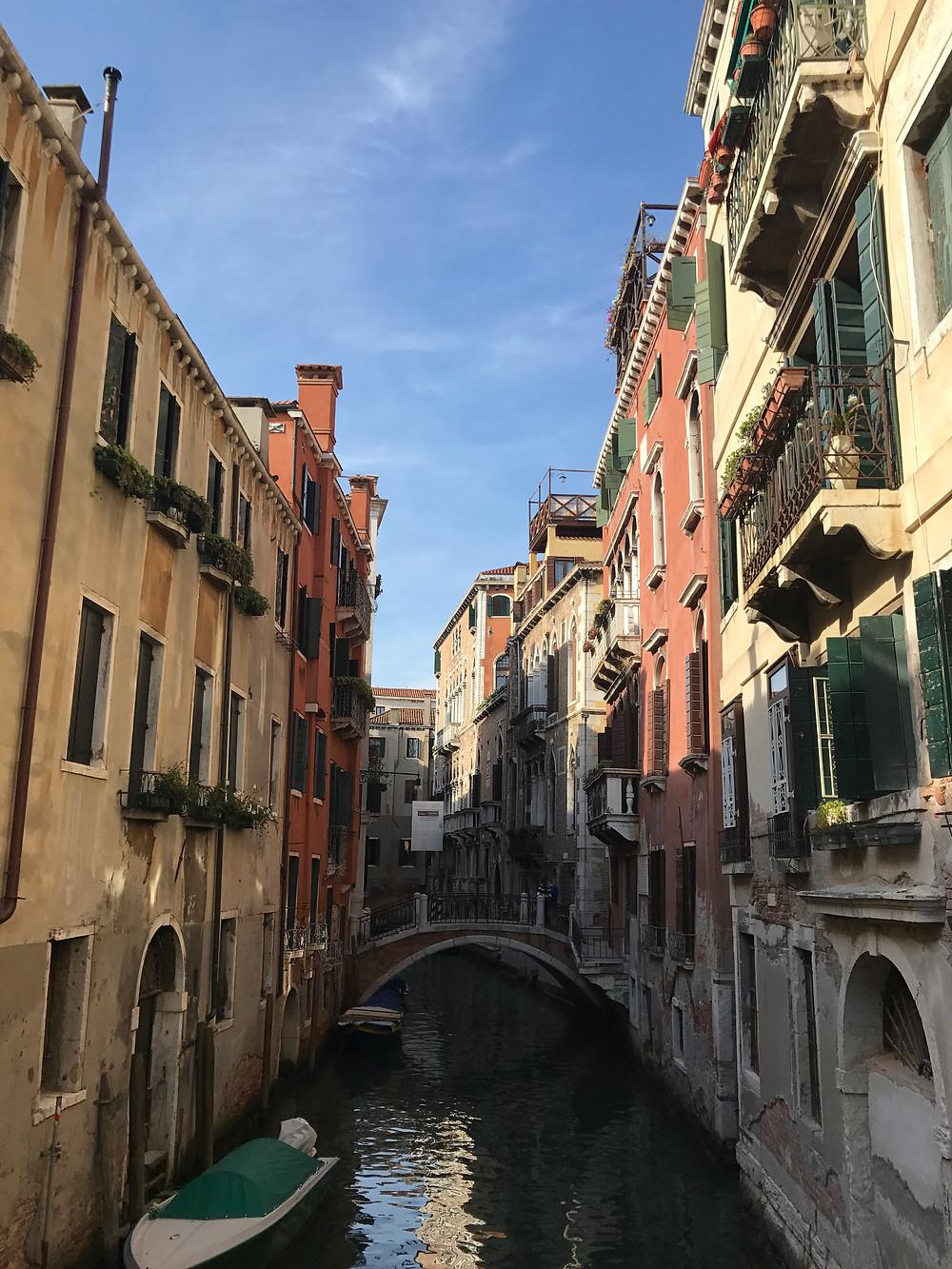 Sightseeing around Italy.