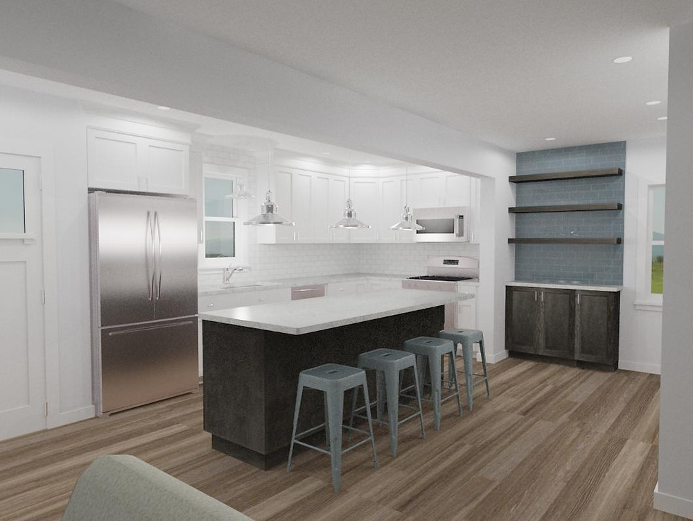 A third rendering by Complete Flooring and Interiors.