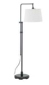 A floor lamp for task lighting.