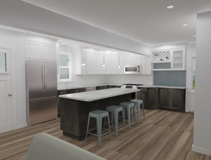 A rendering by Complete Flooring and Interiors.
