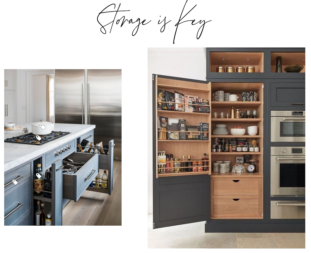 Storage Ideas for Kitchen Design