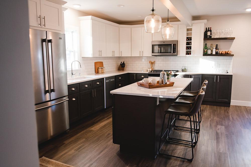 A kitchen designed by Lauren Figueroa.