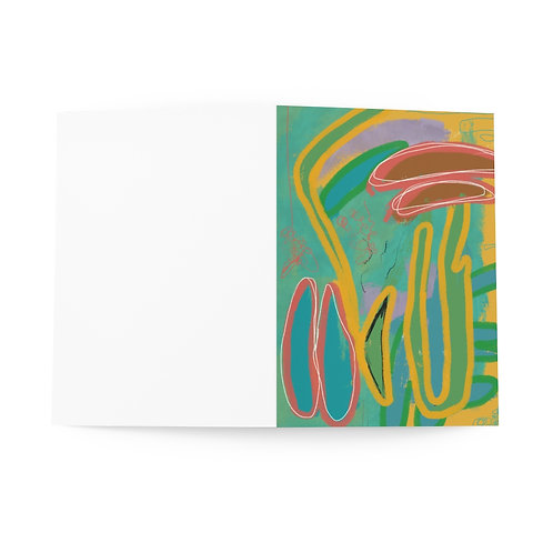 Set of 8 Blank Greeting Cards   Original Artwork by Lauren Figueroa
