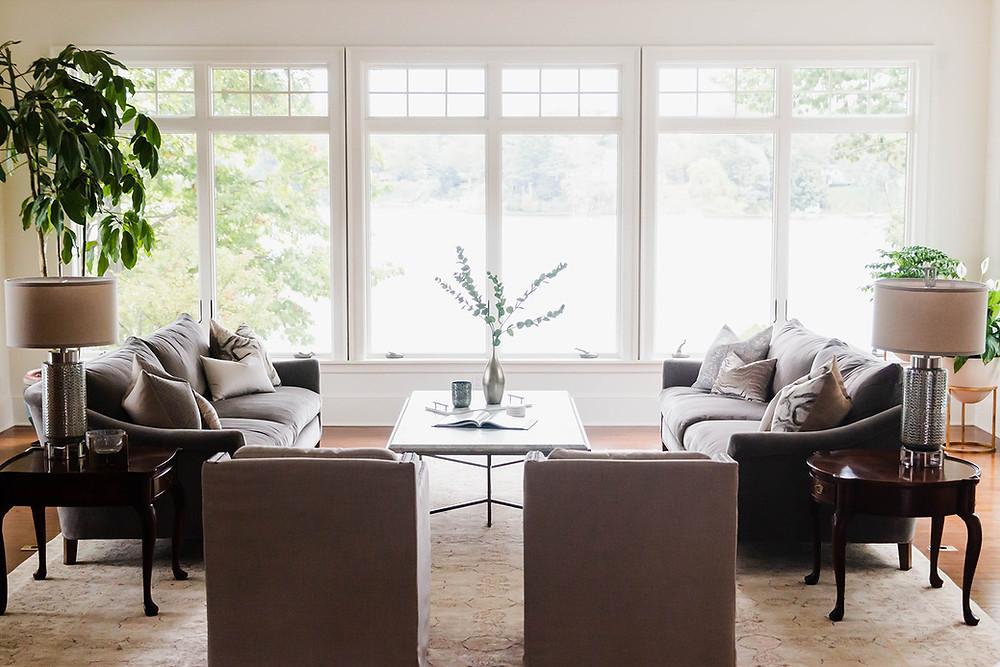 formal living room design spring lake michigan lauren figueroa