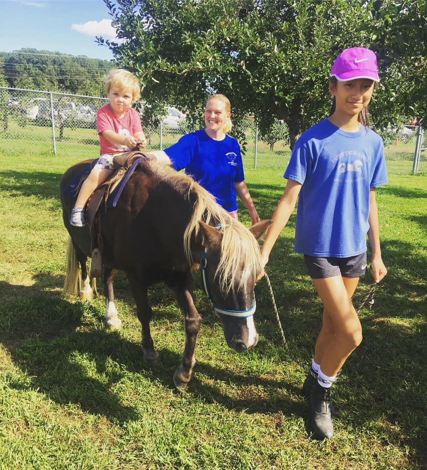 Pony ride with Jiminy Cricket