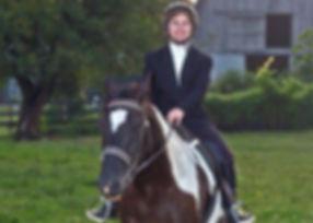 JoAnn Riding Painted Warrior