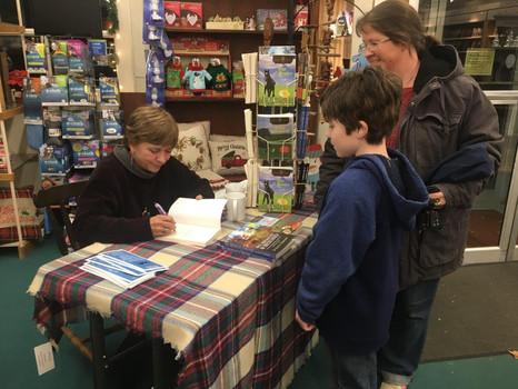 JoAnn S. Dawson, book signing event