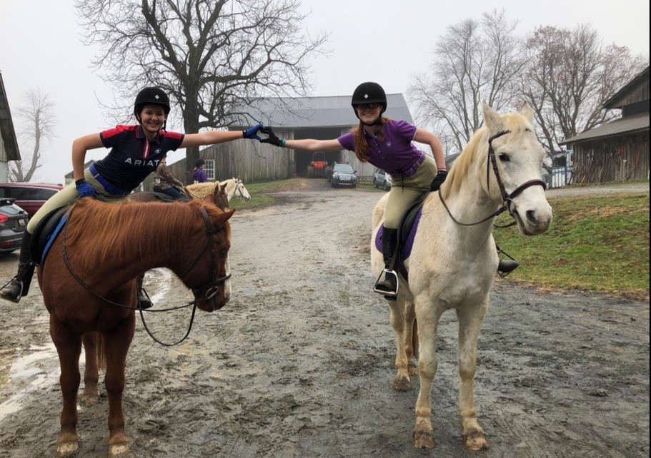 Riding is better with friends!