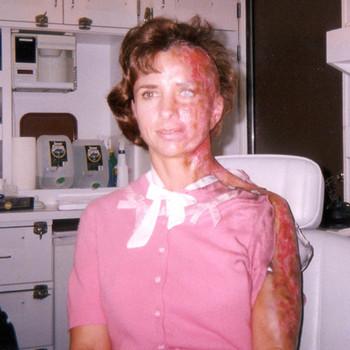 """Joann as the """"Burnt Teacher"""" in the Sixth Sense"""