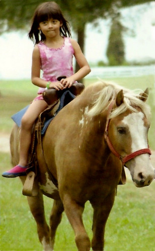 Pony rides with butterscotch