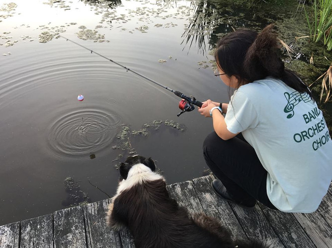 Fishing with Finny