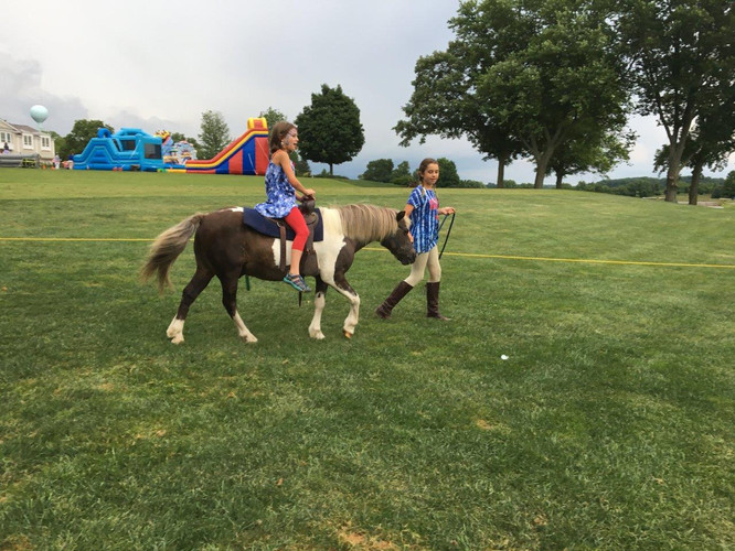 Pony ride with Patches