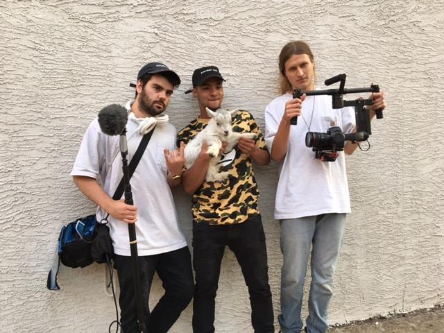 Wrangling for a tourism video
