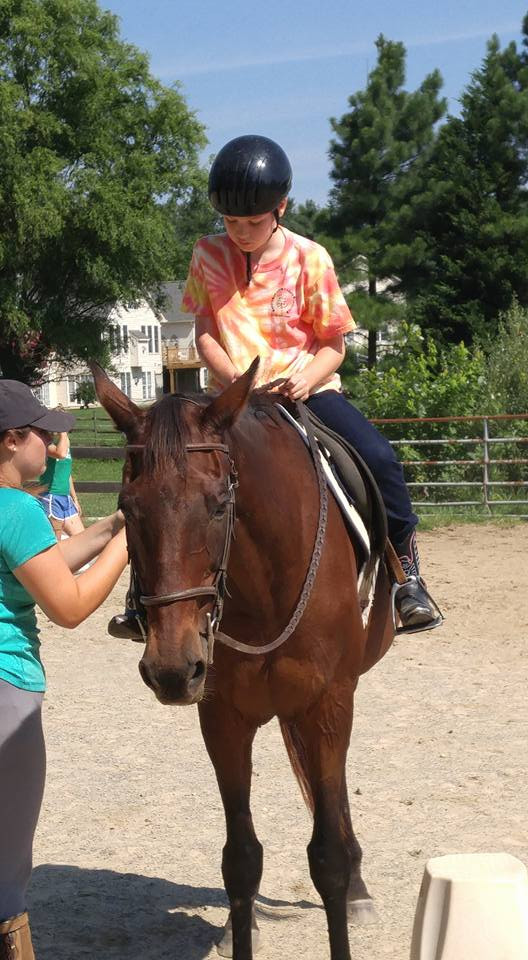 4-H Riding Lesson on Duncan