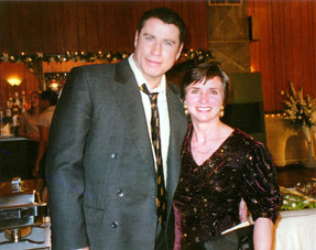 JoAnn with John Travolta, from Ladder49