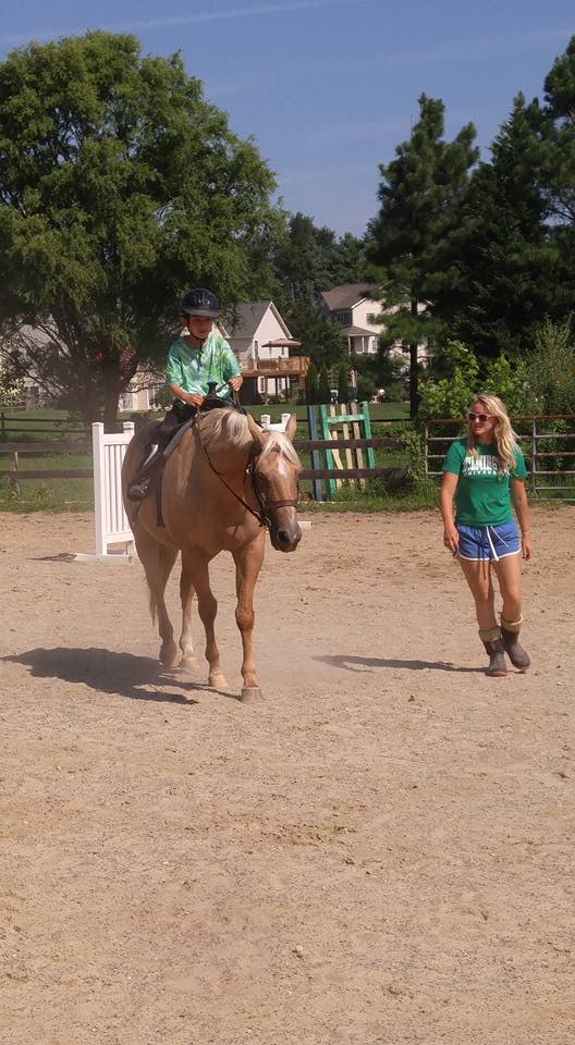 4H Riding Lesson on Dixie
