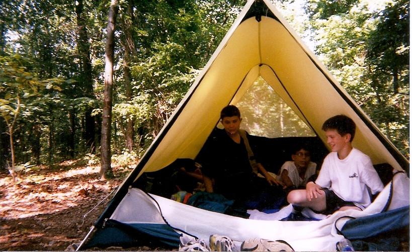 Camping at Fairwinds Farm
