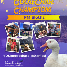 FMSloths StarFest GooseChase Champions