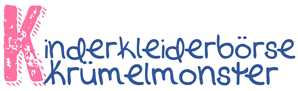 Logo Kinderkleiderbörse Krümelmonster