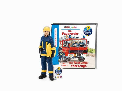 Die Feuerwehr/Die Rettungsfahrzeuge