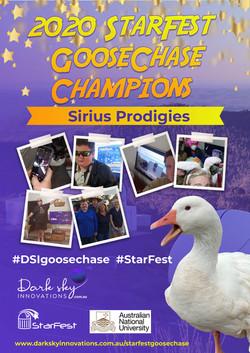 Sirius Prodigies StarFest Champions