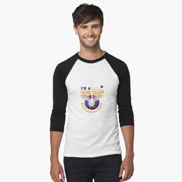 I'm a Dark Sky Innovations Goose Chaser Baseball ¾ Sleeve T-Shirt