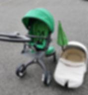 Kinderwagen inkl. Babywanne
