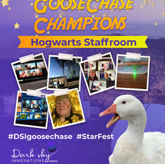 Hogwarts Staffroom StarFest GooseChase Champions