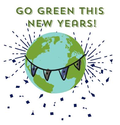green new years