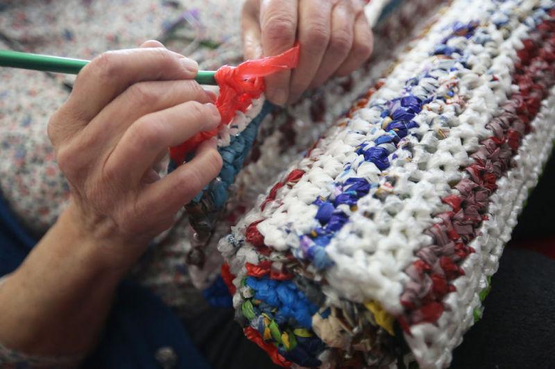 plarn plastic yarn