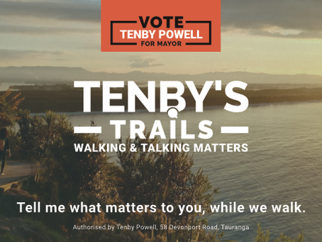 HAPPY SPRING EVERYONE: JOIN ME ON TENBY'S TRAILS TO 'WALK-THE-TALK'