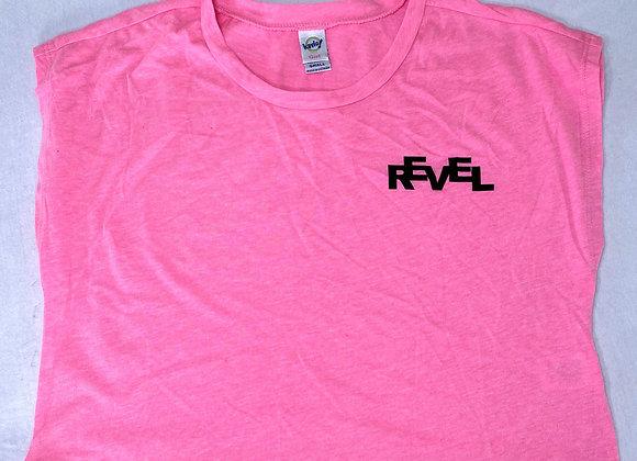 Revel Pink Crop Top