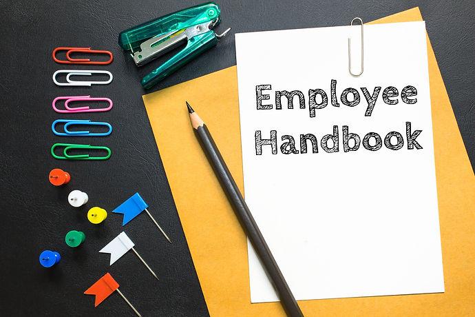 Text Employee handbook | Topanga HR