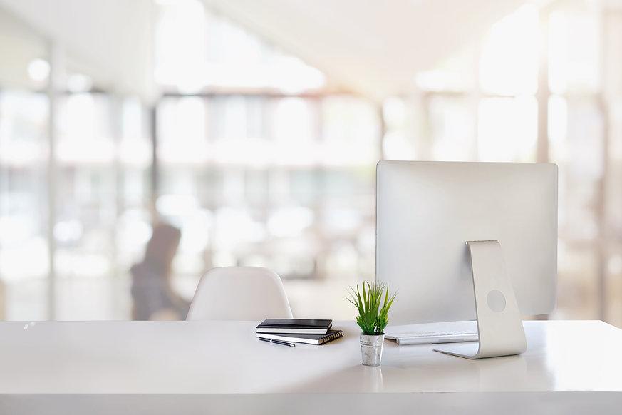 Stylish workspace with desktop computer | Topanga HR