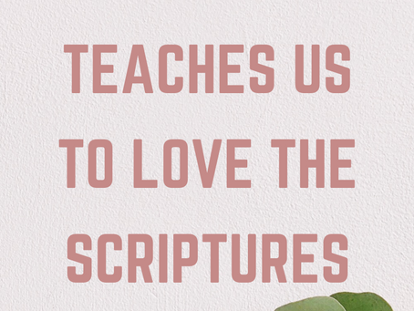 Jesus Christ Teaches Us to Love the Scriptures