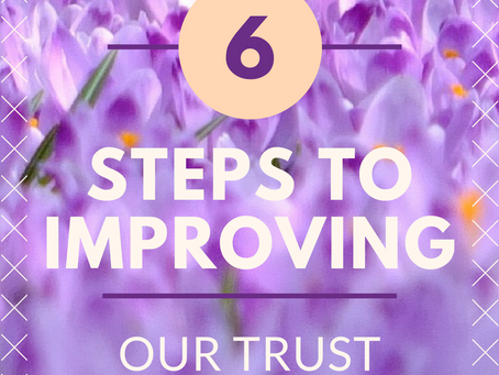Six Steps to Improving Our Trust in God