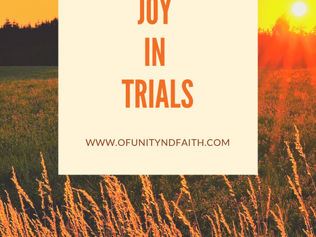 Cultivating Joy in Trials
