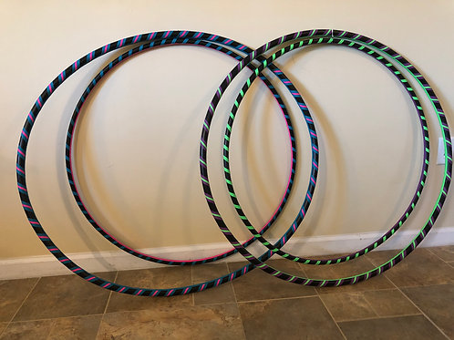 Waist and Hand Fitness Hoop Combo