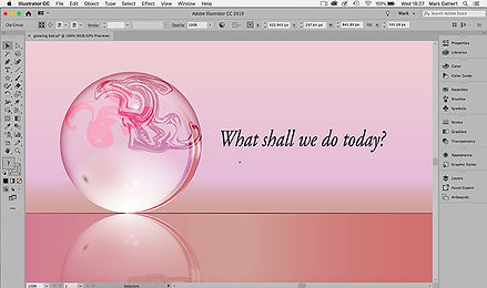 this image shows some of the things you can do with adobe illustrator
