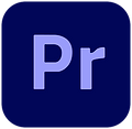 the adobe premiere pro logo