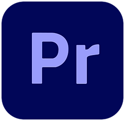 the adobe premiere pro logo