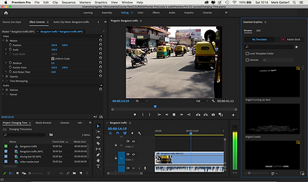 this image shows some of the things you can do with adobe premiere pro