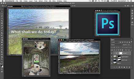 this image shows a few things you can do with adobe photoshop