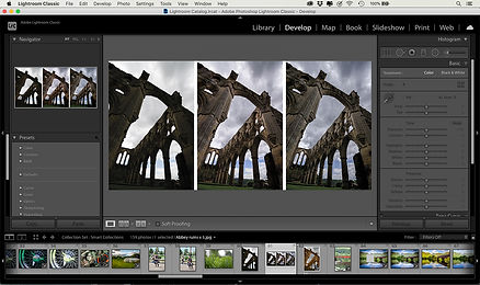 this image shows some of the things you can do with adobe lightroom classic