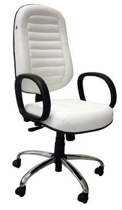Cadeira Presidente Costurada com base cr